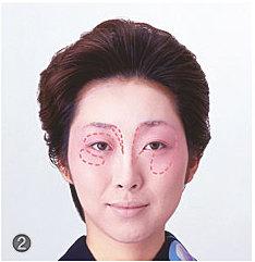 日本舞踊メイク/ぼかし紅