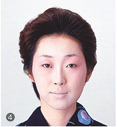 日本舞踊メイク/肌の仕上げ