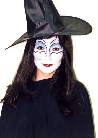 ハロウィン 魔女メイク