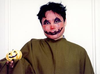 ハロウィン かぼちゃメイク