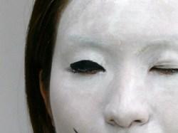 コスプレ・ものまね・余興の白塗りメイクの方法と商品紹介|ポイントメイク・ライニングカラーブラック